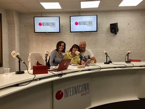 """El mediático cocinero Iñigo Pérez, """"Urrechu"""", visita Radio Internacional"""