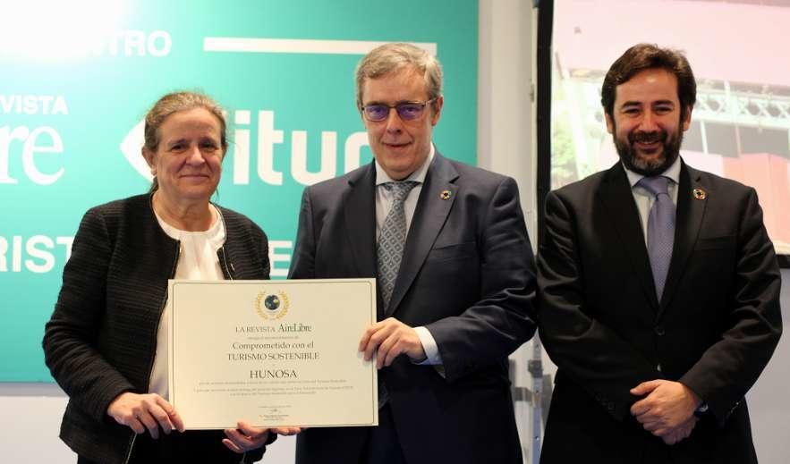 Hunosa recoge premio a la sostenibilidad